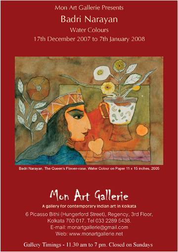 Badri Narayan--Monart Gallerie - Events and Exhibitions