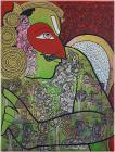 Ramesh Gorjala-Garuda-Monart Gallerie Indian Art Gallery